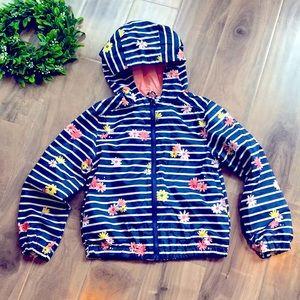 🔥4 for $25🔥 GYMBOREE jacket in floral stripe